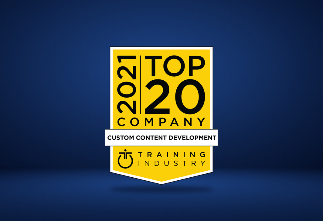 11th Consecutive Win for Aptara 'Top 20 Custom Content Development Companies' for 2021 by Training Industry